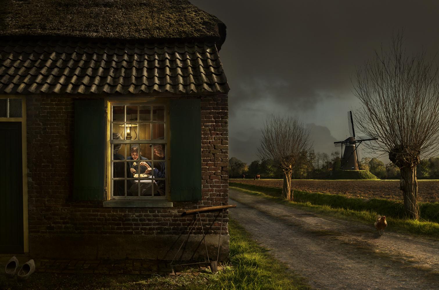 Aardappeleters © Maartje Roos