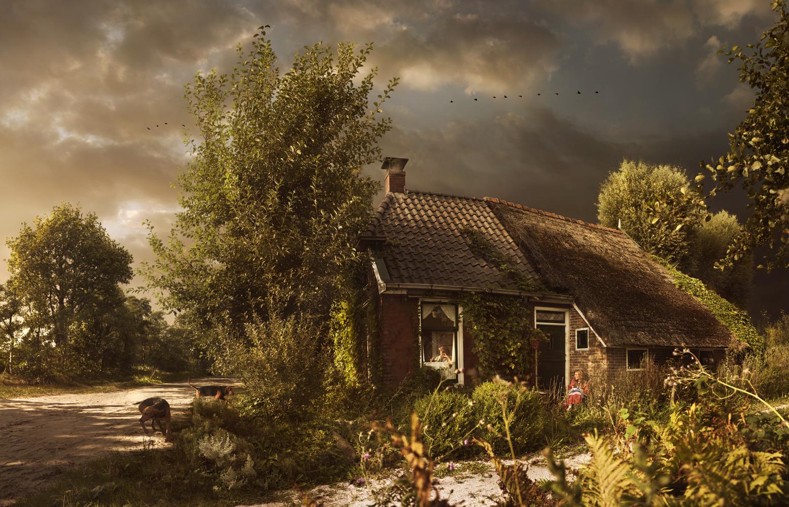 © Maartje Roos - Spoekhûn fan de Simmerdyk