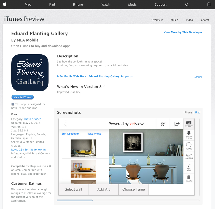 Get our free app! - Eduard Planting Gallery